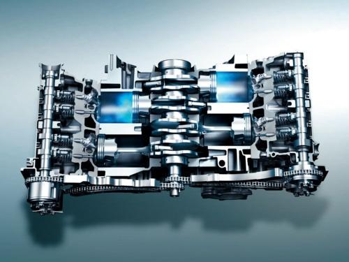 図1 水平対向ガソリンエンジン