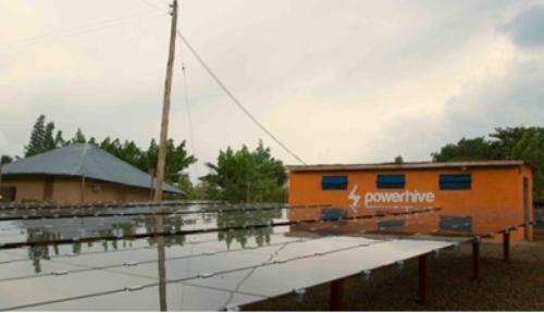 図1●ケニア西部のKisii郡の未電化地域に設置されたマイクログリッド設備