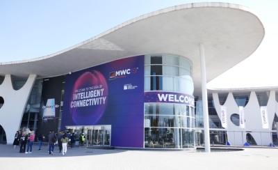 「MWC19バルセロナ」の会場。2020年2月に開催予定だった「MWC Barcelona 2020」は中止された