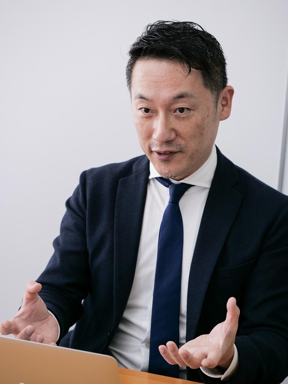 マキシム・ジャパン 代表取締役社長 兼 米本社のマネージングディレクターの林 孝浩氏