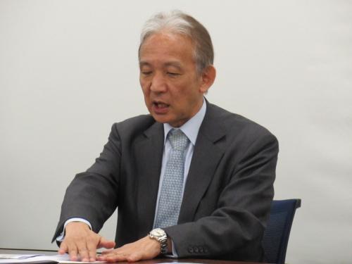 光産業技術振興協会副理事長・専務理事の小谷泰久氏
