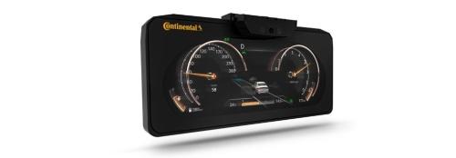 図2 Continentalが量産を開始した裸眼3Dディスプレー