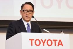 図2 トヨタ自動車社長の豊田章男氏