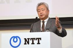 図3 NTT社長の澤田純氏
