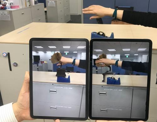 写真3  LiDARスキャナーの効果