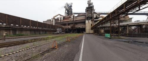 東日本製鉄所京浜地区の第2高炉