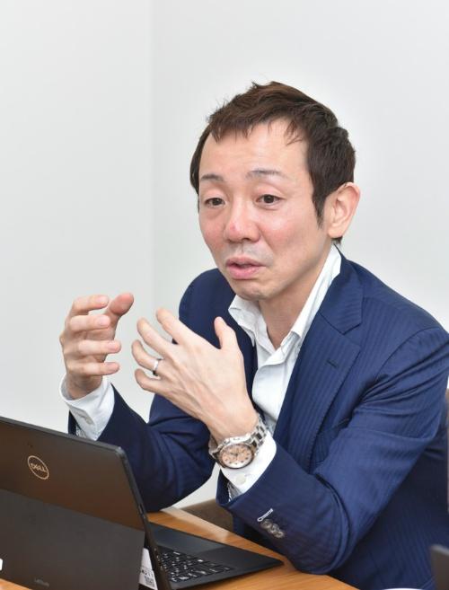 図1 ソフト生産革新部の山田隆太氏