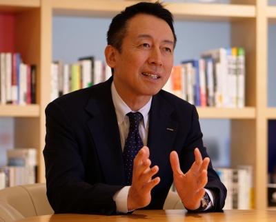 NTTデータの松永恒取締役常務執行役員