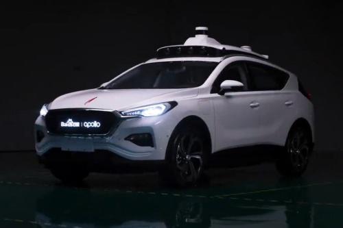 中国バイドゥ(Baidu、百度)の自動運転プラットフォーム「Apollo」を使った車両