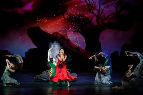 台北歌劇団の演目のリハーサルの様子