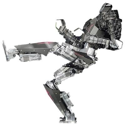 図1 油圧シリンダーを脚に使った人型ロボット