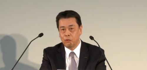 日産社長兼CEOの内田誠氏