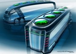 いすゞとユーグレナが構想する次世代車両コンセプト(出所:いすゞ自動車)