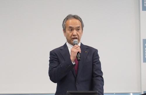 三菱重工業取締役社長の泉澤清次氏