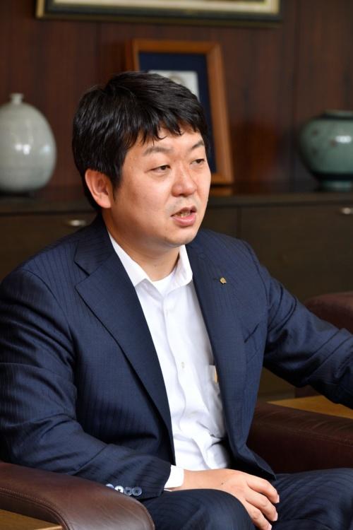 アイリスオーヤマ代表取締役社長の大山晃弘氏