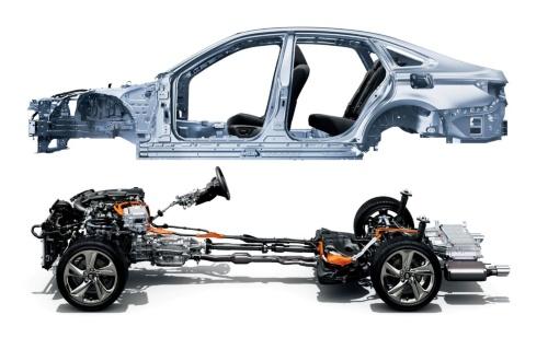 図3 トヨタのFRプラットフォーム「GA-L」