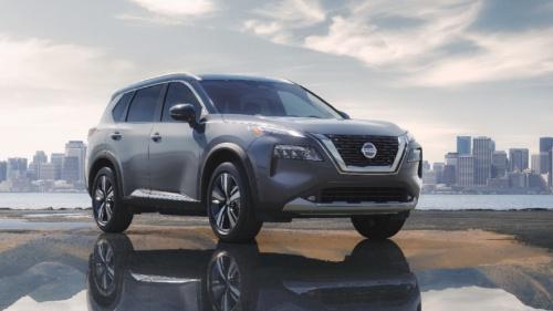 図2 日産が米国で発表した中型SUVの新型「ローグ」