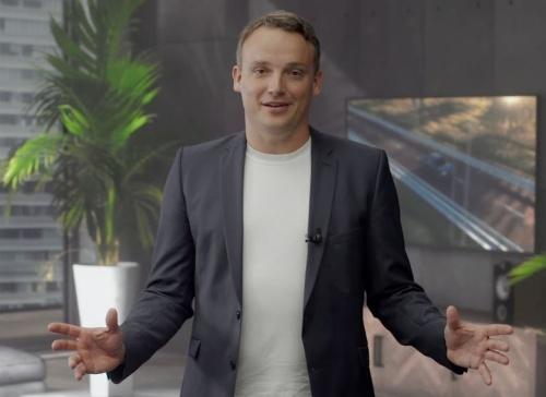 SAPPHIRE NOW 2020の基調講演で登壇した欧州SAPのChristian Klein(クリスチャン・クライン)CEO(最高経営責任者)
