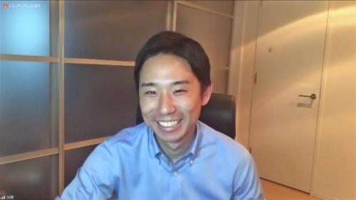 キャディ代表取締役社長の加藤勇志郎氏