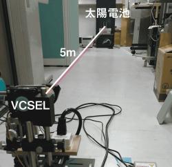 図2 面発光レーザー(VCSEL)でドローンに給電