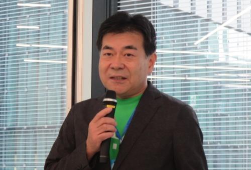 イノベリオスの長谷川良裕代表取締役社長執行役員