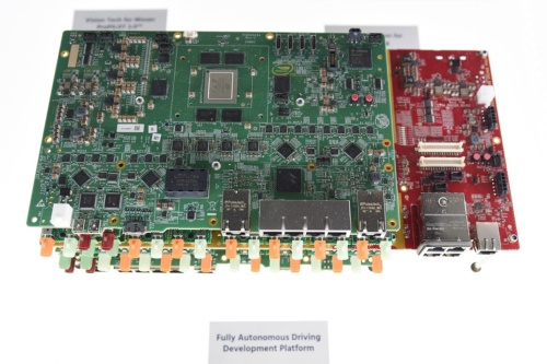 図 Mobileyeが開発中の自動運転システム向け車載コンピューター