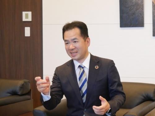 新会社アイキューブデジタル社長の竹原正治氏