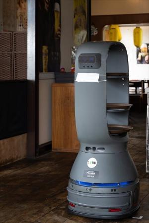 配膳ロボット「PEANUT(ピーナッツ)」