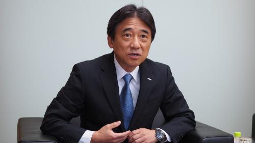 「経営企画部長や副社長の時代にもサブブランドを検討したことがある」と語るNTTドコモの吉沢和弘社長