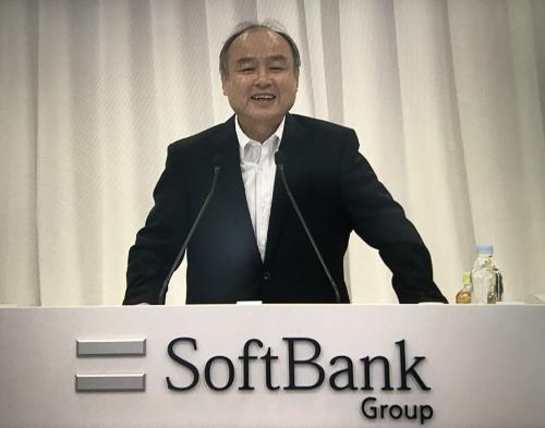 2020年6月25日、株主総会に臨んだソフトバンクグループの孫正義会長兼社長