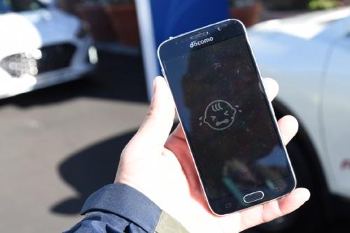 図1 幼児の置き去りをスマートフォンに通知