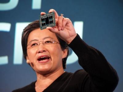 「第2世代EPYCプロセッサー」(開発コード:Rome)をプライベートイベントで掲げるAMD CEOのLisa Su氏