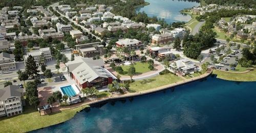 図1●フロリダ州にある大規模な分譲住宅池「バブコック・ランチ」