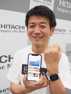 ハピネスプラネットCEOの矢野和男氏(出所:ハピネスプラネット)