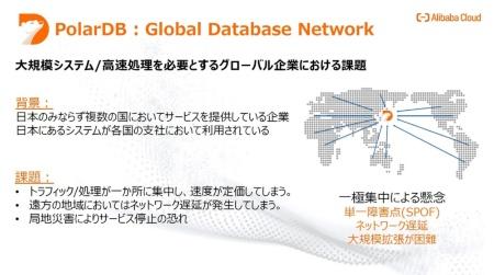 「グローバル・データベース・ネットワーク(GDN)」の概要