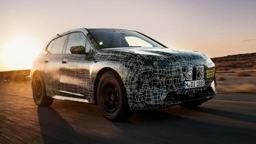 BMW初のレベル3自動運転車「iNEXT」の試作車