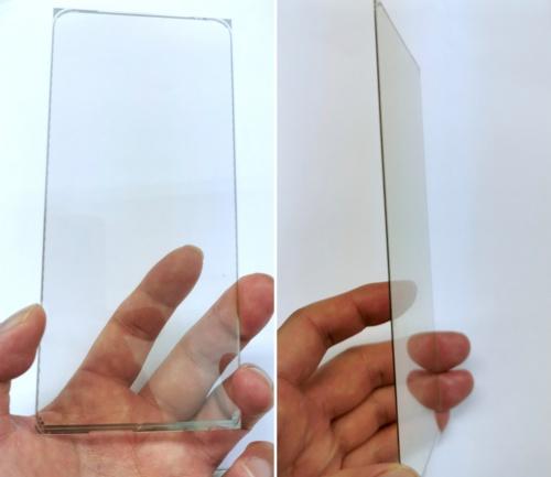 静電容量式指紋センサーのモジュール