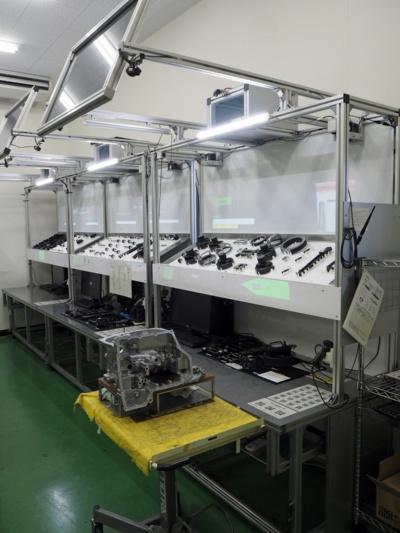 図1 ジヤトコがCVT用ケースの検査工程に導入したシステム
