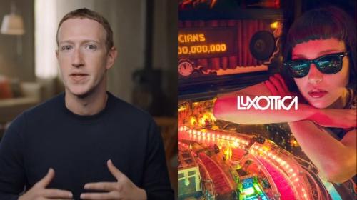 2021年にARグラス(スマートグラス)の発売を発表した米Facebook(フェイスブック)CEOのMark Zuckerberg氏