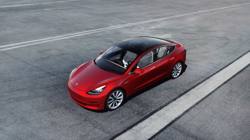 米Tesla(テスラ)のEV「Model 3」