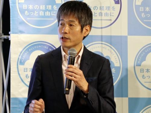 花王 会計財務部門経理企画部の上野篤氏