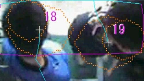 カメラの映像を画像分析して判断
