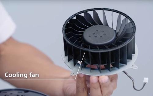 PS5の冷却ファン