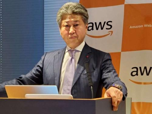 アマゾン ウェブ サービス ジャパンの宇佐見潮執行役員