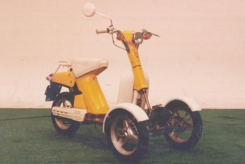 図4 ヤマハ発は1970年代半ばに3輪技術の研究開発を開始