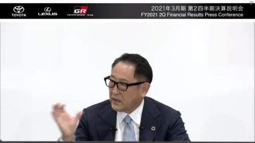 トヨタ自動車の豊田章男社長
