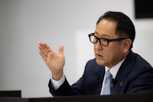 図1 トヨタ社長の豊田章男氏