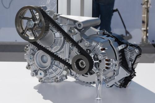 図2 eDeliver4Uに搭載する駆動用モーター