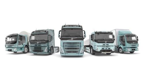 図2 Volvoグループは大型EVトラックを22年に量産する