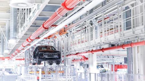 2018年から電気自動車を生産するベルギー・ブリュッセル工場で、カーボンニュートラル(炭素中立)を実現した(出所:Audi)